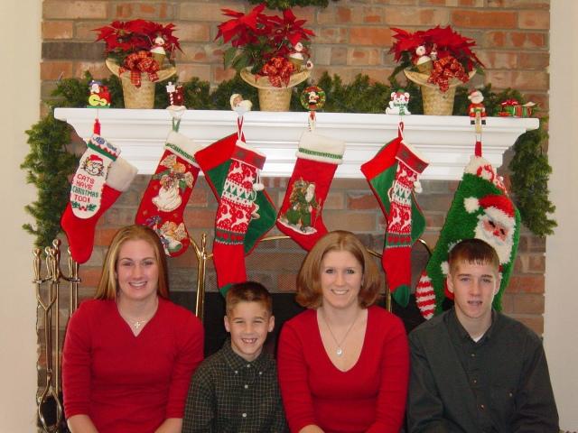 Christmas 2002 in Midland Texas....