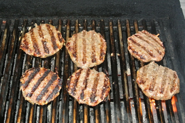 Burgers almost ready!
