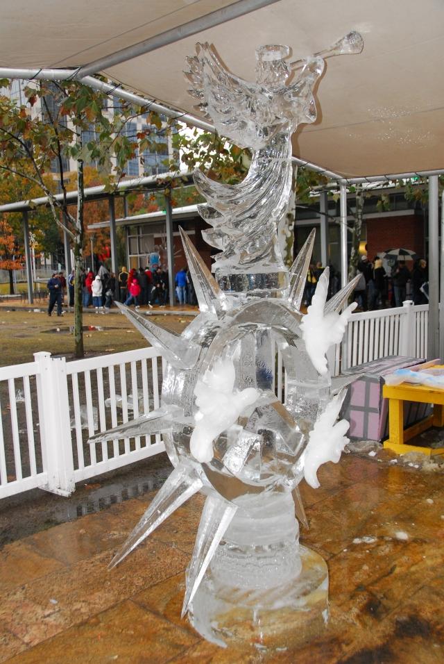 The winning Ice Sculpture. Pretty Cool - a pun????