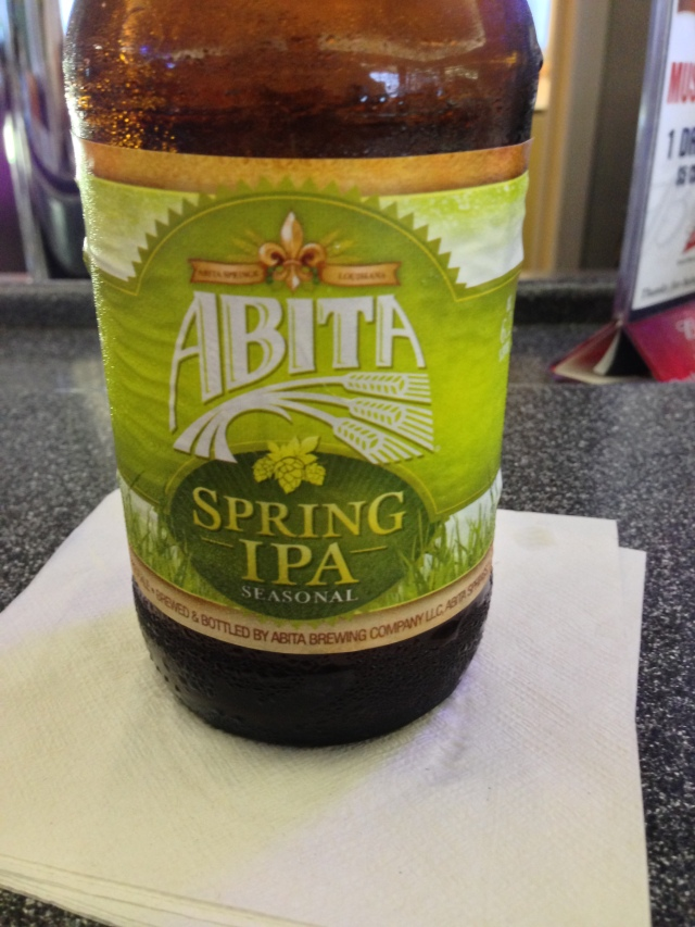 Abita Spring IPA....my vote would be to add it to the full time line-up