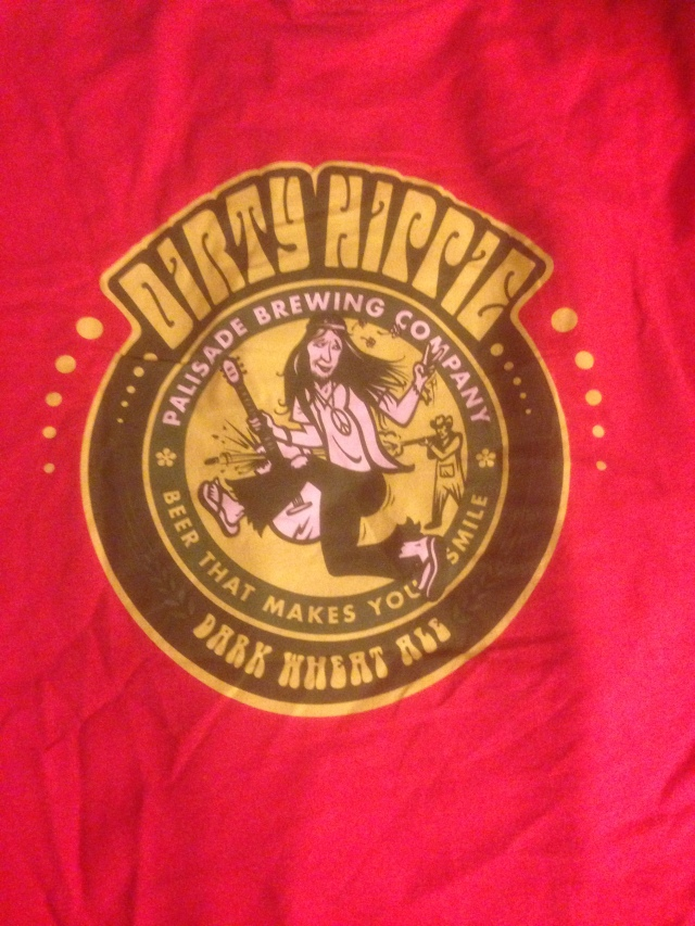 Dirty Hippy T-shirt from Palisade Brewery