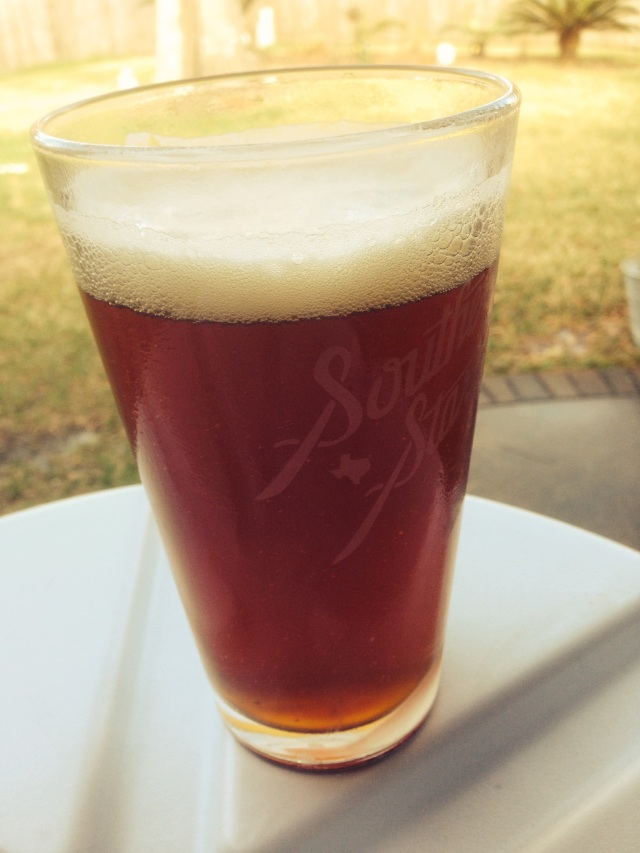 My Golden Wheat Red IPA to help the lengthy brewing process.
