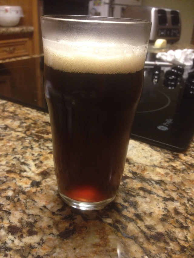 A pint of a successful batch...or really 12 ounces!