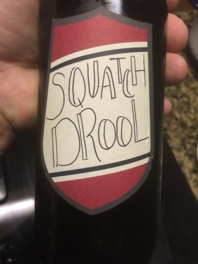 Squatch Drool....Very, very good Brown Ale!